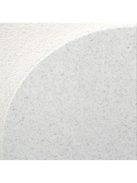 Detail: Tischplatte Pfeffer und Salz aus Vollkunststoff Hygenia Granilen PE. Wetterfest und prima für Aussen geeignet!