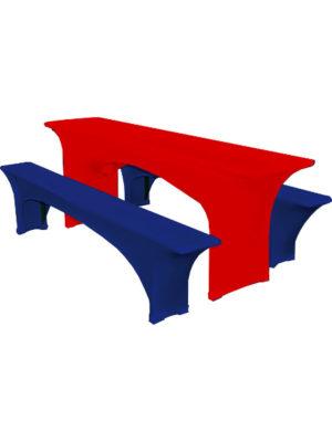Tischbezug-BASIC-Stretchhusse