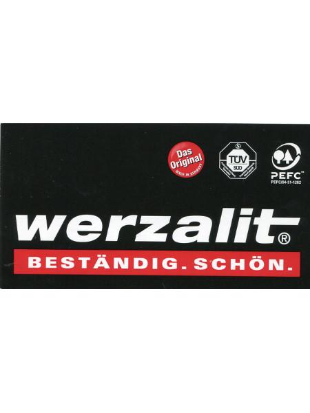 Tischplatte WERZALIT: Qualitätstischplatte mit TÜV und vielen Dekoren