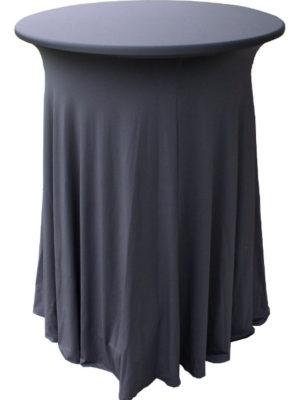 Stretchhusse GALA für Stehtische waschbar und pflegeleicht in verschiedenen Farben. Gut geeignet für Scherenstehtische!