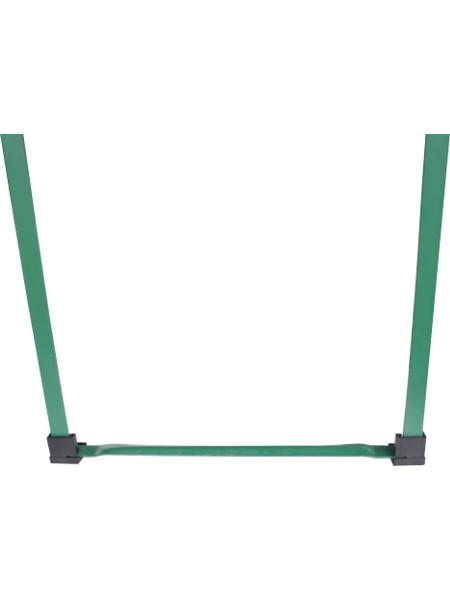 Eckiger Bodenschoner für Bierzeltgarnituren mit 90° winkeligen Standfuß - Idealer Schutz für Ihren Boden