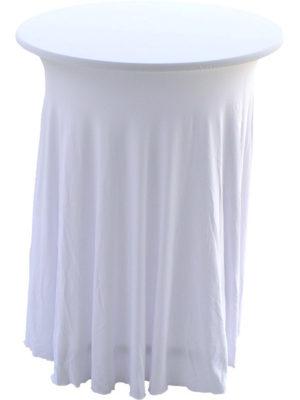 Stretchhusse GALA für Stehtische waschbar und pflegeleicht in verschiedenen Farben
