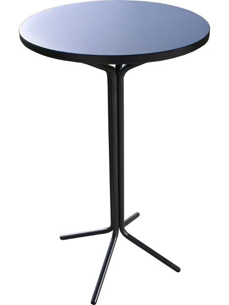 Metall-Stehtisch PIXI mit Tischplatte aus Metall in 60 cm Durchmesser
