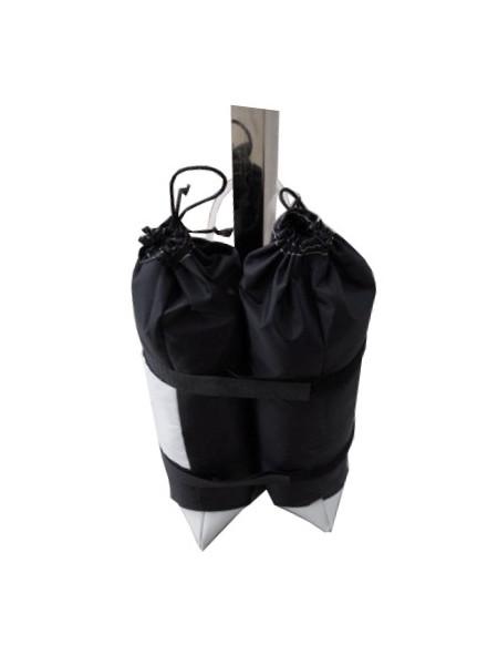 Universal-Sandgewicht für Klappzelte und auh für Stehtische mit Sonnenschirm