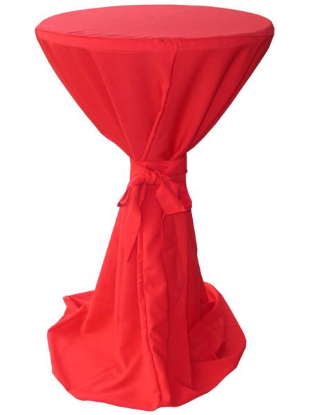 Schleifenhusse aus Burlington-Polyester: Waschbar und Pflegeleicht! Hier in Größe Ø60-70 cm