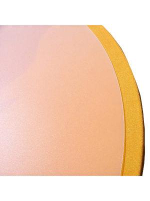 Schutzplatte zum Auflegen auf Stehtische mit Hussen. Verfügbar für Platten in Ø70, Ø80 oder Ø85 cm