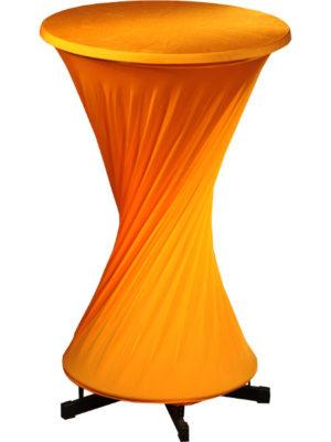 Praktisch Husse Diabolo aus Stretchmaterial - Husse zum Eindrehen - nur für Praktisch-Stehtisch MIT Fußring