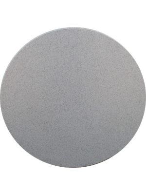 Tischplatte GRAU-SCHWARZ aus Vollkunststoff Hygenia Granilen PE. Wetterfest und prima für Aussen geeignet!