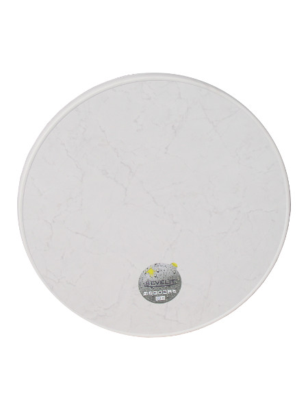 Sevelit Ø70 cm weiss-marmoriert