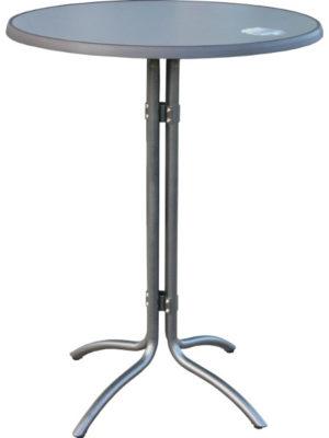 Combi-stehtisch-mit abnehmberer Tischplatte und klappbarem Untergestell