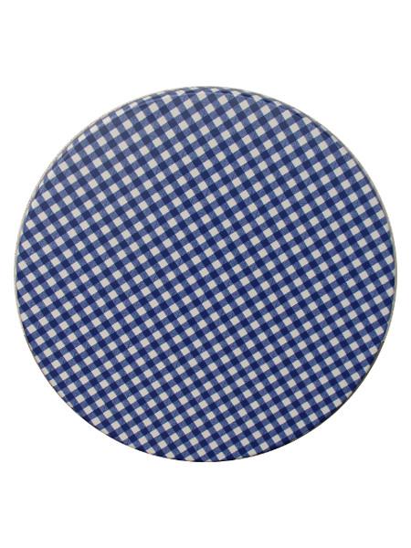 Tischplatte Karo-blau