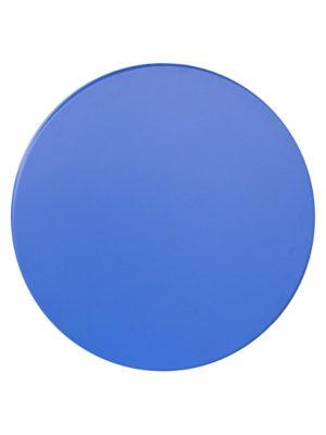einfarbig blaue Tischplatte