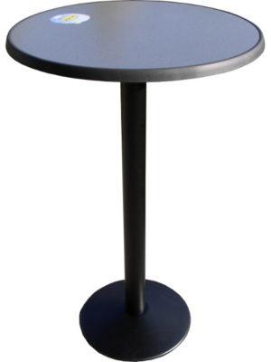 Stehtisch SOLO mit Tischplatte Sevelit in 70 cm Durchmesser