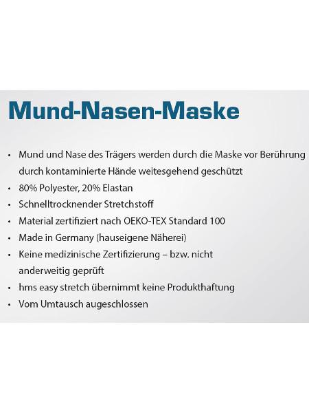 Beschreibung Mund-Nasen-Maske