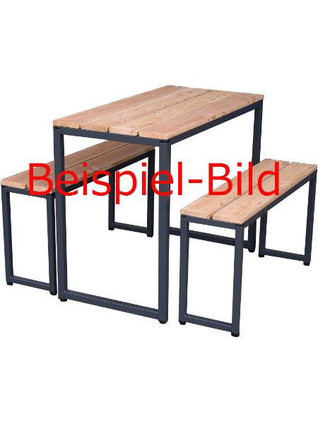 Beispielbild: So könnten Sie die Untergestelle mit Holz gestalten