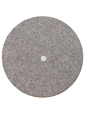 Tischplatte Werzalit in Ø80 cm MIT Schirmloch im Dekor GRANIT