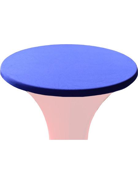 Tischplattenbezug Decodoria aus Stretchgewebe - passende Universalgröße con 70-85 cm rund in 6 Farben