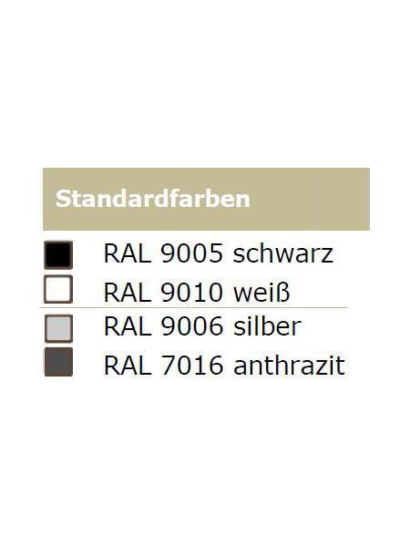 Sorrento-Single Heizstrahler mit Infrarottechnik: Gehäusefarben