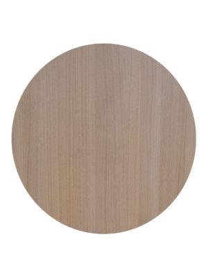 Tischplatte im hellen Eichendekor und 5 cm Stärke nur für Innenräume