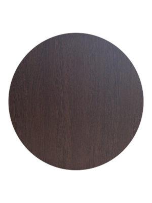 Tischplatte Durolight im dunklen Holz-Dekor WENGE