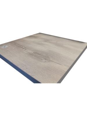 Durolight Tischplatte 80 x 80 cm im Dekor Nautic Oak - wie gekalckte und gewaschene Eiche