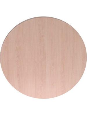 Tischplatte Topalit Classic in 80 cm Durchmesser im wunderschönen Buchendekor