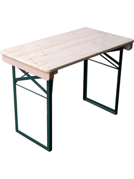 Balkontisch oder kurze Bierzeltgarnitur TOM in 109 cm Tischlänge