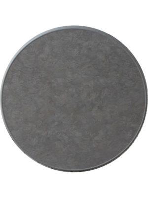 Original Tischplatte Sevelit im dunklen Dekor Pizzarro