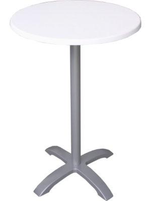 Stehtisch LION mit Tischplatte Topalit Weiss